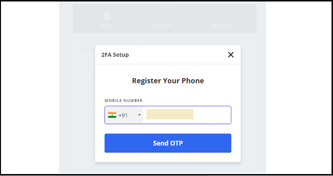 Wazirx-Mobile-Verification