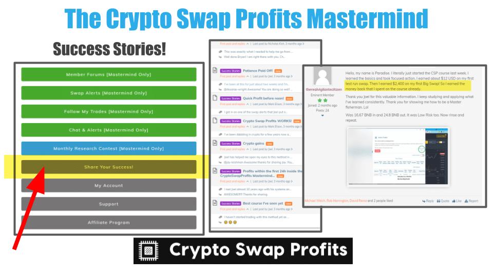 Crypto Swap Profits Pros