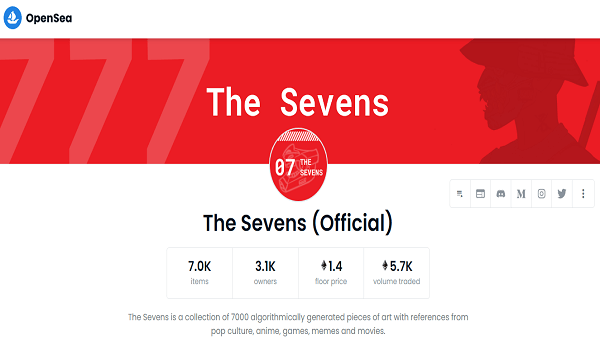 How To Buy The Sevens NFTs